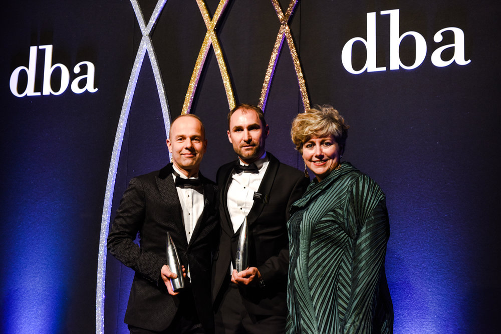 Winners at the 2018 DBA Design Effectiveness Awards!