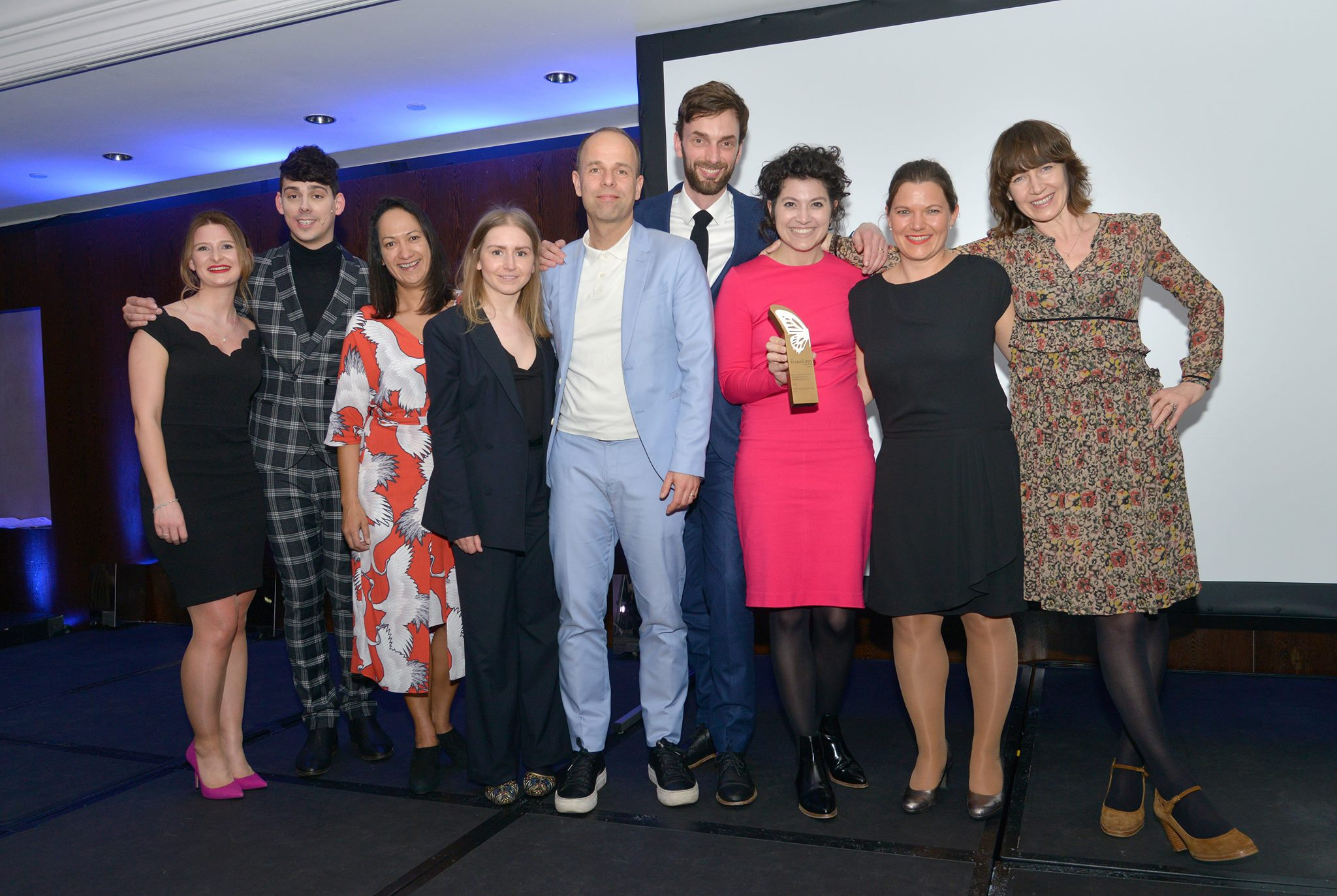 Two Golds and two Silvers at last night's 2018 Transform Awards