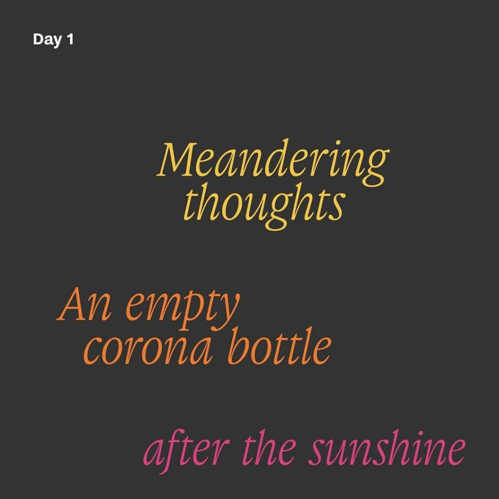 Haiku day 1