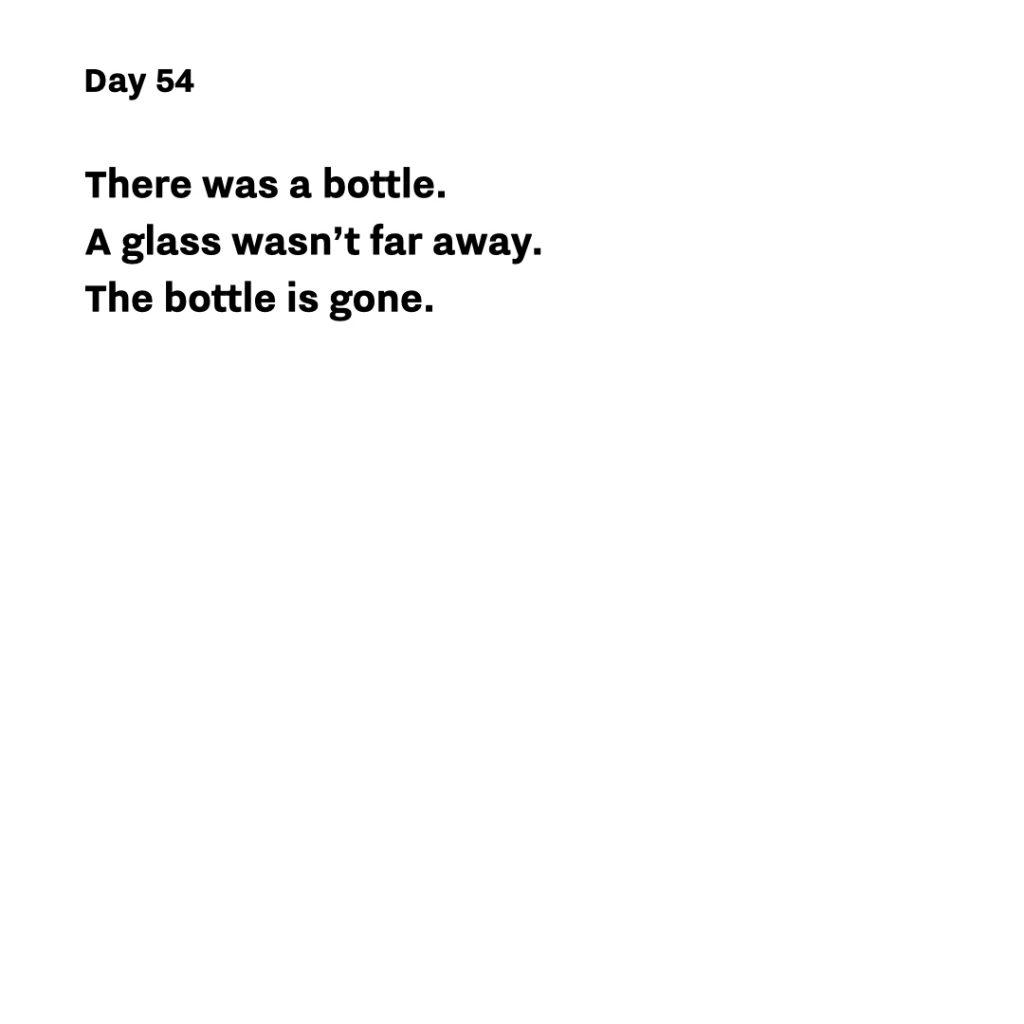 Haiku day 54